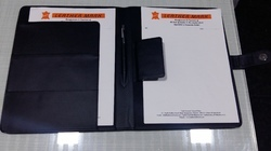 PU Synthetics Material File Folder