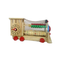 Multicolor Own Wooden Engine Toy, For Amusement Park