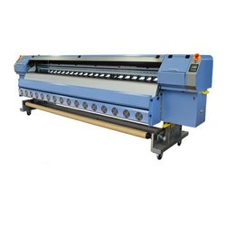 Konica Head 4 Flex Printing Machine, For Industrial, Model Name/Number: RK3300