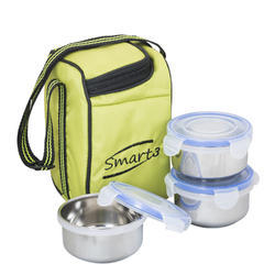 Smart 3 Steel Lunch Box