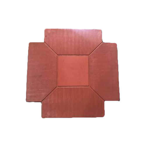 Silicone Plastic Floor Chequered Tile Mould