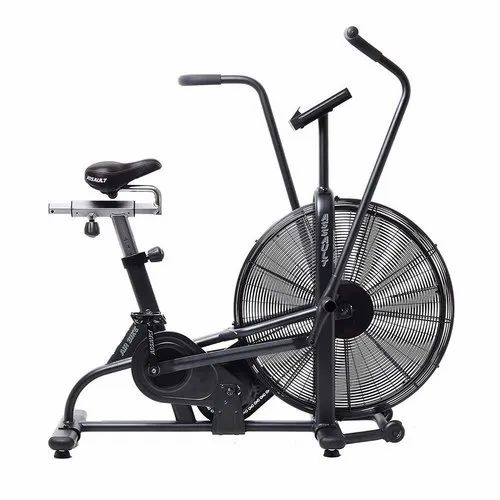 Black Air Bike Assault Airbike For Gym Rs 82000 Piece Python Sports Pvt Ltd Id 21318834788