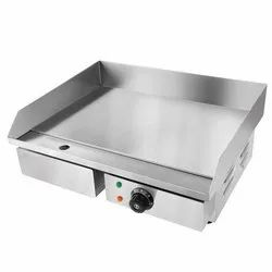 Stainless Steel Modern Hot Plate Griller, Size: 550 X 450 X 235 Mm, 3 Kw