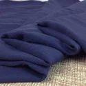 Rayon Dyed Blue Fabric