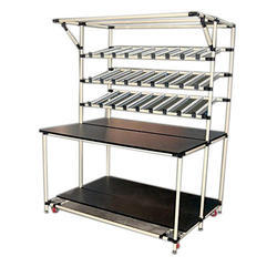 INDUSTRIAL FIFO STORAGE RACK SYSTEM