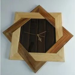 Wooden Wall Clock For Home Decoration