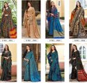 Pashmina Silk Saree With Shawls