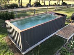 Movable Container Swimming Pool