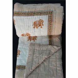 Jaipuri Printed Razai