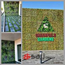 Artificial Vertical Garden Wall Indoor Outdoor