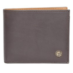 Woodland W 540656 Brown and Tan Men's Leather Wallet