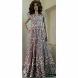 Western Stitched Party Wear Gown