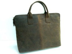 Hunter Leather Laptop Sleeve Handbag
