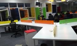 Y Shape Open Office Workstation