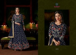 Arihant Semi-Stitched Gown Present New Catalog Sashi Vol 18