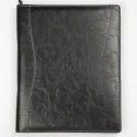 Black Leather File Holder