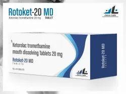 Ketorolac Tromethamine 20mg Tab
