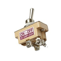 20 Amp DPST Toggle Switch
