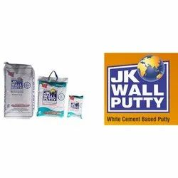 White JK Wall Putty, Packaging Type: Bag , Packing Size: 20 Kg
