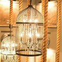 Cage Type Led Decorative Hanging Chandelier