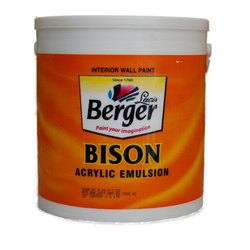 Berger Bison Acrylic Emulsion Interior Wall Paint