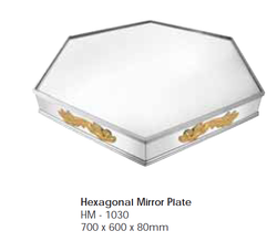 Hexagonal Mirror Plate