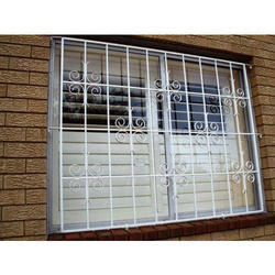 Metal Modern Window Grill