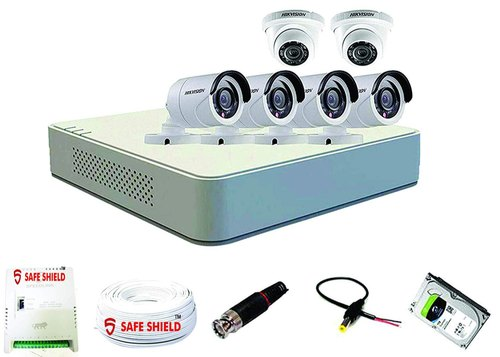 Hikvision 8 Channel Power Supply Surveillance Kit
