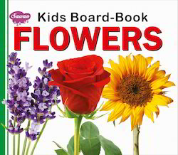 Kids Board Book Flowers