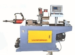 SNE Automatic Pipe End Forming Machine, 4.0 Kw, Hydraulic