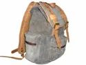 Retro Canvas Leather Backpack