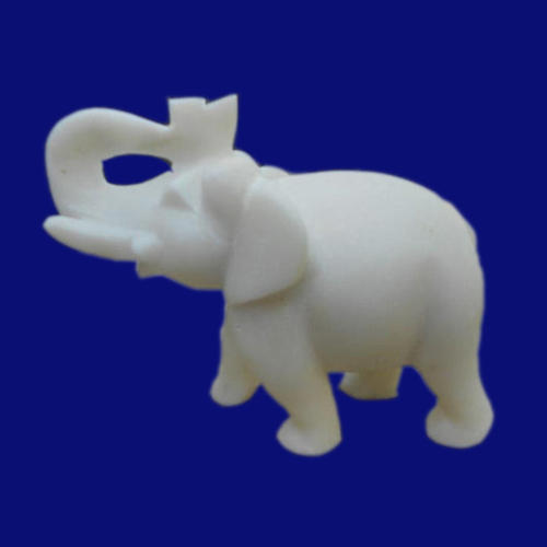 White Marble Elephant Statue Sizedimension N A For Home Decor