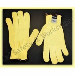 Kevlar Knitted Cut Resistant Hand Gloves Make Midas