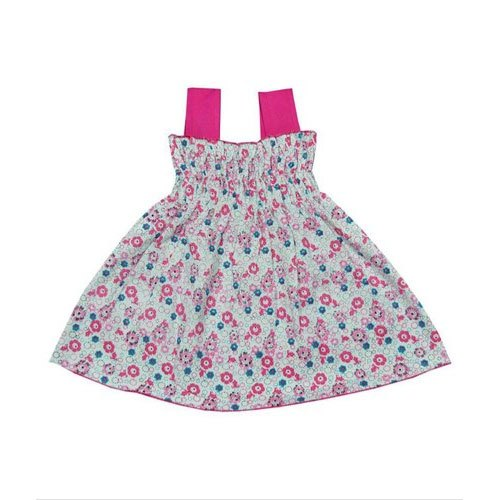 Cotton Multicolor Baby Girl Stylish Midi
