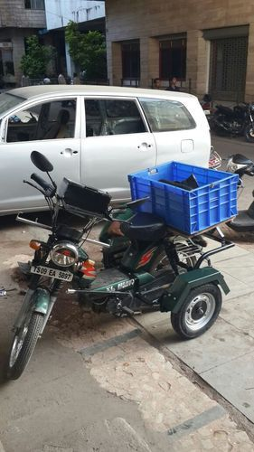 Tvs Xl 100 With Tea Basket Handicapped Moped At Rs 16500 Piece
