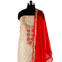Ladies Embroidered Dress Material