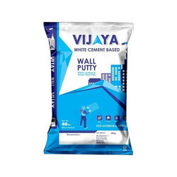 Vijaya White Wall Care Putty, Packaging Type: Bag, Packing Size: 40 Kg