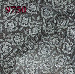 Designer Net Fabric With Pearl Combination