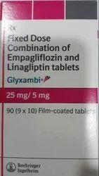 25mg And 5mg, 10mg And 5mg Glyxambi Tablet, Blood Sugar Control, boehringer ingelheim
