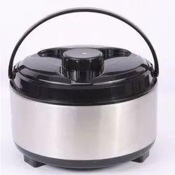 Plastic Handle Stainless Steel Casserole 3500ml For Hotel/Restaurant