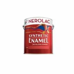 High Gloss 4 Liter Nerolac Synthetic Enamel Paint