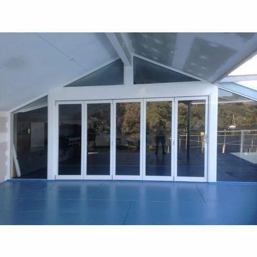 Aluminium Bifold Glass Door At Rs 600 Square Feet Aluminum