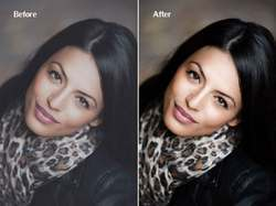 In Pan India Lady Model Image Editing Services