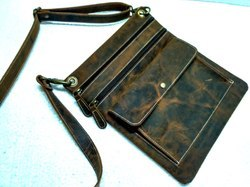 Buffalo Leather Designer Sling Bag