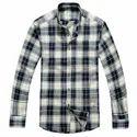 Mens Collar Check Shirt