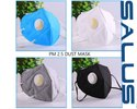 Disposable N95 Fold Dust Face Mask with Valve Non Woven Active Carbon Anti Pollution Respirator