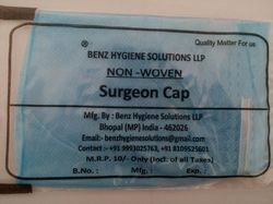Round Single Packed Surgeon Cap, Model Name/Number: BENZ46, Size: 18 Inch