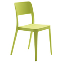 Green Plastic Chair, Height: 782 Mm