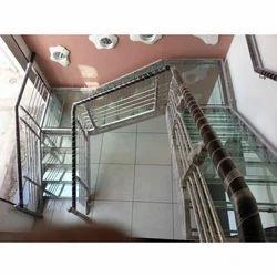 Modern Glass Stair