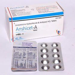 Levocetirizine Hydrochloride & Ambroxol HCL Tablets